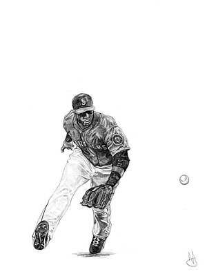 Robinson Cano Poster by Joshua Sooter