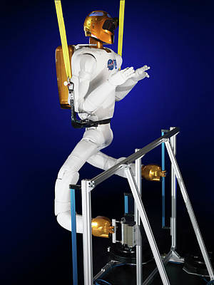 Robonaut 2 Research Laboratory Poster by Nasa, Bill Stafford And James Blair
