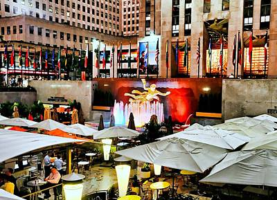 Rock Center Summer Poster by Diana Angstadt