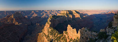 Rock Formations At A Canyon, North Rim Poster by Panoramic Images