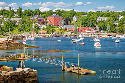 Rockport  Harbor Poster by Susan Cole Kelly