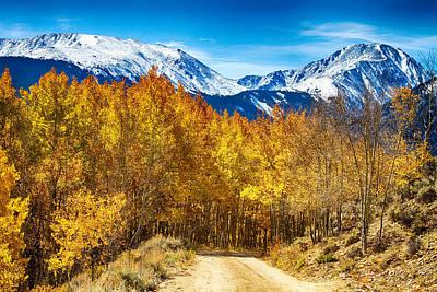 Rocky Mountain Autumn Cruisin Poster by James BO  Insogna