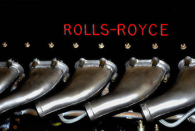 Rolls Royce Merlin 62 Poster by See My  Photos