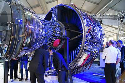 Rolls-royce Trent 1000 Poster by Mark Williamson