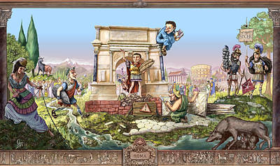 Roma I Poster by Odysseas Stamoglou