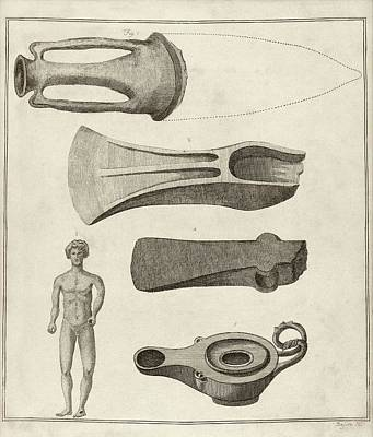 Roman Artefacts Poster by Middle Temple Library