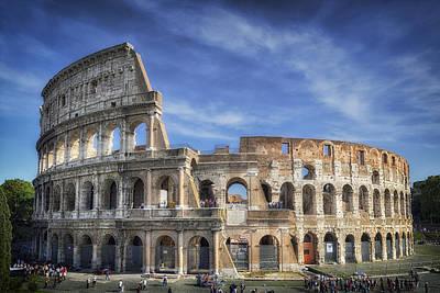Roman Icon Poster by Joan Carroll
