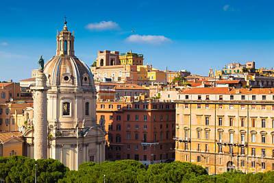 Rome 02 Poster by Tom Uhlenberg