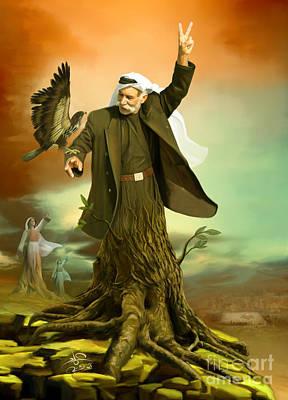 Roots Poster by Imad Abu shtayyah