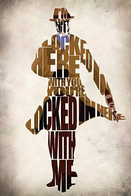 Rorschach Poster by Ayse Deniz