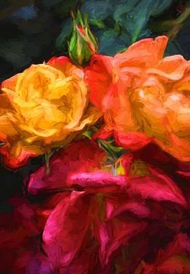 Rose 318 Poster by Pamela Cooper