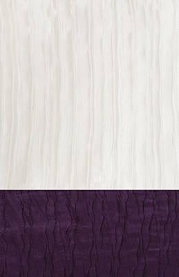 Royal Aubergine - Royal Purple Poster by Margaret Ivory
