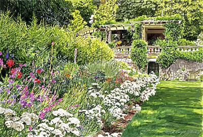 Royal Garden Poster by David Lloyd Glover