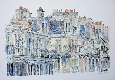 Rue Du Rivoli Paris Poster by Anthony Butera