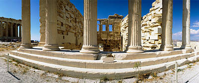 Ruins Of A Temple, Parthenon, The Poster by Panoramic Images