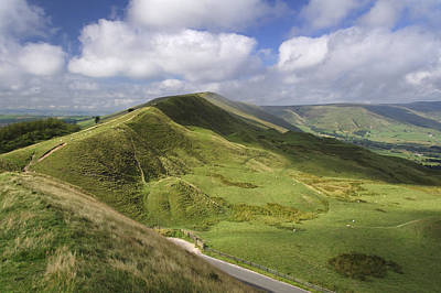 Rushup Edge - Viewed From Mam Tor Poster by Rod Johnson