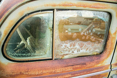 Rusted Antique Automobile, Tucumcari Poster by Julien Mcroberts