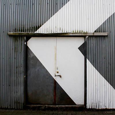 Rusty Door- Photographay Poster by Linda Woods