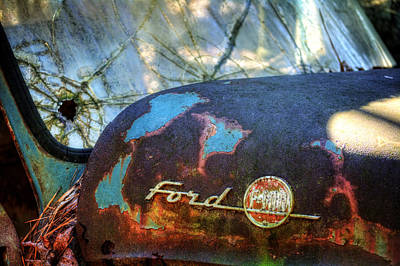 Rusty Ford F100 Poster by Greg Mimbs