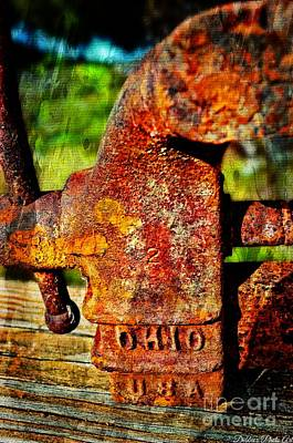 Rusty Vise Vi Poster by Debbie Portwood