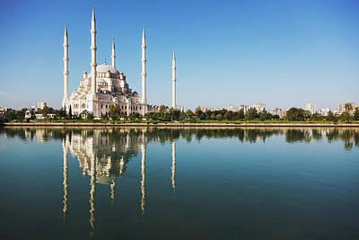Sabanci Mosque  Adana, Turkey Poster by Reynold Mainse