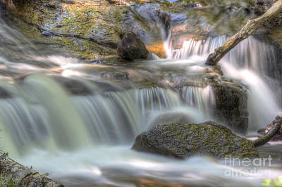 Sable Falls In Pictured Rocks Poster by Twenty Two North Photography