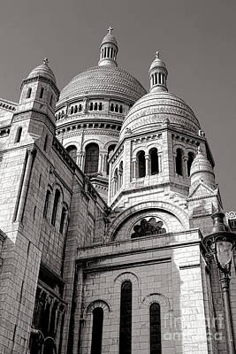 Sacre Coeur Architecture  Poster by Olivier Le Queinec
