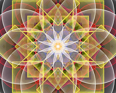 Sacred Geometry Applied - Art 3 Poster by Jeremy Nanney