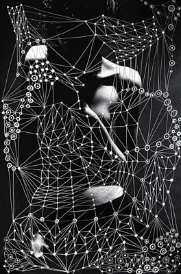 Sacred Geometry Mixed Media Art By Maria Lankina Poster by Maria  Lankina