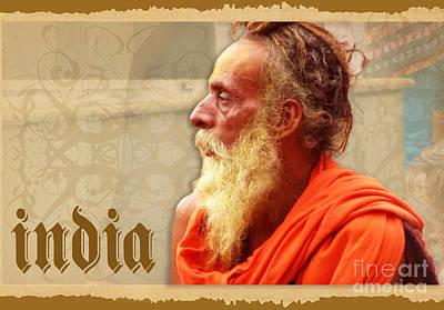 Sadhu From India Poster by Prajakta P