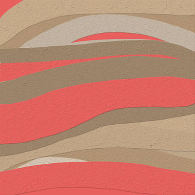 Sahara Sunset Poster by Bonnie Bruno
