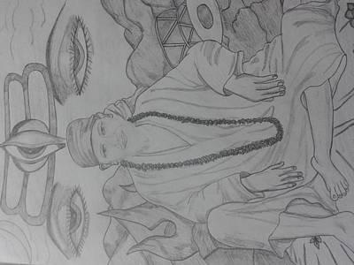 Sai Baba With Lord Shiva Poster by Shefali Magan