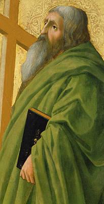 Saint Andrew Poster by Tommaso Masaccio