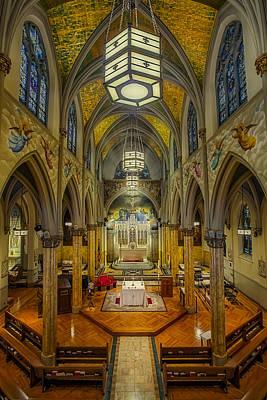 Saint Malachy The Actors Chapel  Poster by Susan Candelario