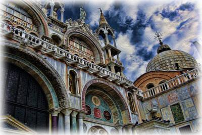 Saint Mark's Basilica Poster by Lee Dos Santos