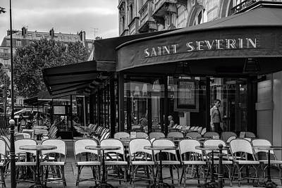 Saint Severin Cafe Poster by Georgia Fowler