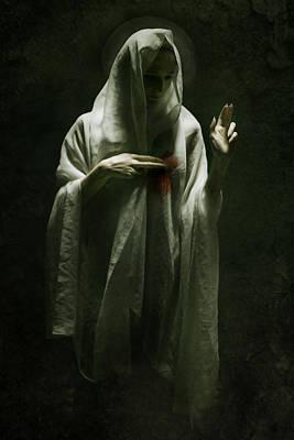 Saint Poster by Wojciech Zwolinski