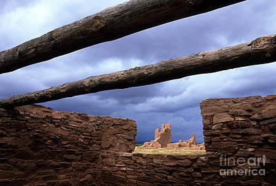 Salinas Pueblo Mission Abo Ruins 5 Poster by Bob Christopher