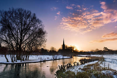 Salisbury Cathedral 2 Poster by Rod McLean