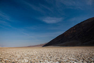 Salt Flat, Western Hemisphere, Badwater Poster by Panoramic Images