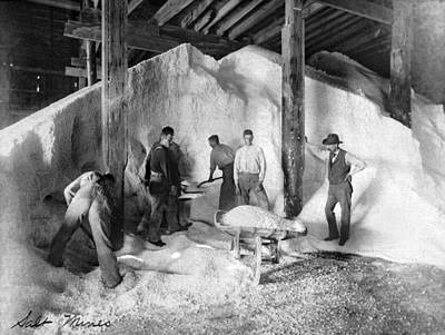 Salt Mine, C1893 Poster by Granger