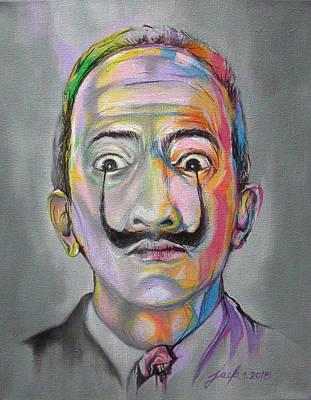 Salvador Dali Poster by Jack No War
