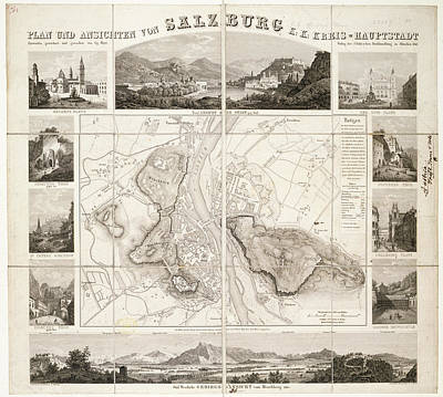 Salzburg Poster by British Library