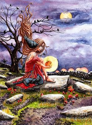 Samhain Poster by Margaret Schons
