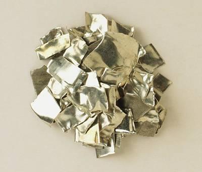 Sample Of Tin Metal Poster by Dorling Kindersley/uig