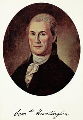 Samuel Huntington (1731-1796) Poster by Granger