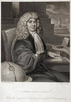 Samuel Pepys Poster by British Library