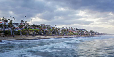 San Clemente Early Morning Poster by Joan Carroll