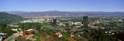 San Fernando Valley On A Clear Day, Los Poster by Panoramic Images