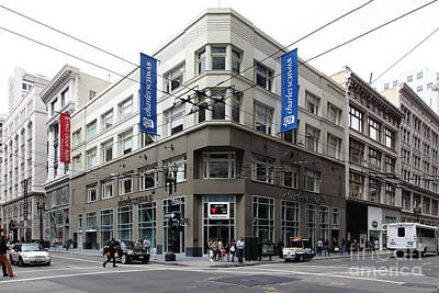 San Francisco Charles Schwab On Kearney Street - 5d17865 Poster by Wingsdomain Art and Photography
